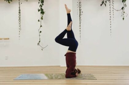 How to headstand Yoga Every Day You